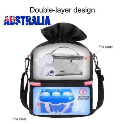 Breast Milk Preservation Storage Bag Ice Milk Backpack Bottle Warmer Bottle Bag