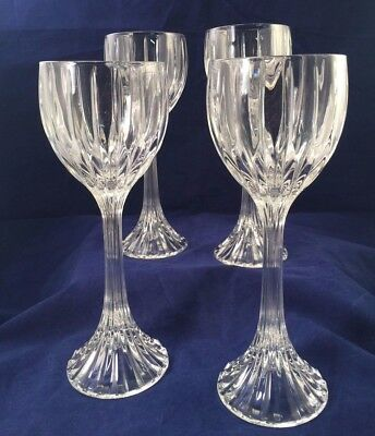 Mikasa Park Lane Hock Wine Glasses Set of 4*
