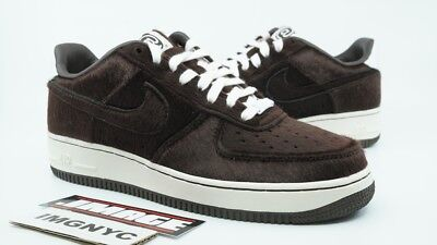 Nike Air Force 1 Prm Tz New Size 7.5 Medicom Bearbrick Dark Cinder 512518  220 705fd49c5c