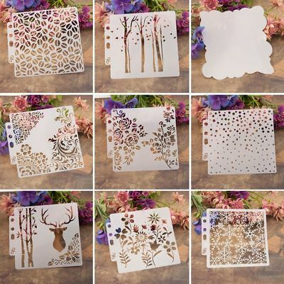 Stencils Template Painting Scrapbooking Embossing Stamping Album Craft Card DIY