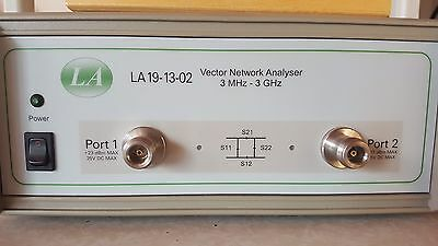 LA 19-13-02 Vector Network Analyzer 3 MHZ - 3 GHZ