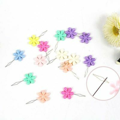 Needle Threader Sewing Machines Plum Blossom Flower Shape Home Craft Tools 2 Pcs