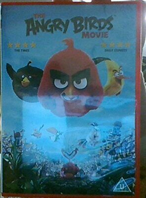 The Angry Birds Movie with FREE Keyring!! - DVD  P6VG The Cheap Fast Free Post