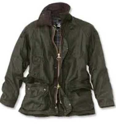 Barbour Beaufort Classic Beaufort Waxed Jacket Blue C46 117cm NEW FAST SHIPPING