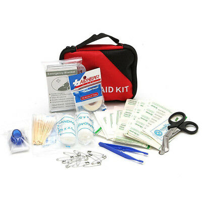 Fm- 303X Household Outdoor Survival Travel Emergency First Aid Kit Rescue Bag Su