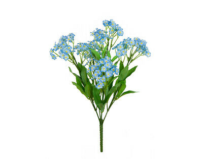 Forget Me Not Bush Pick for Floristry Crafts   Artificial Fabric Craft Flowers