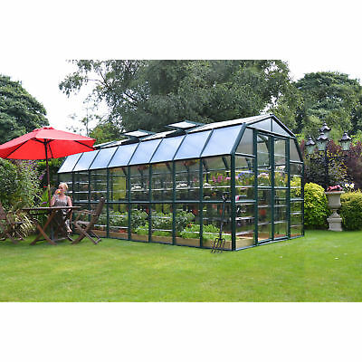 Palram Grand Gardener Clear 8ft. x 16ft. Greenhouse
