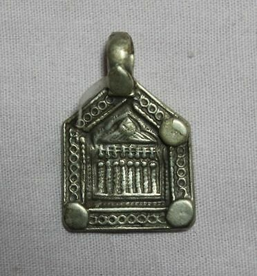 Old Vintage Tribal South Indian Goddess Solid Silver Amulet Pendant 21