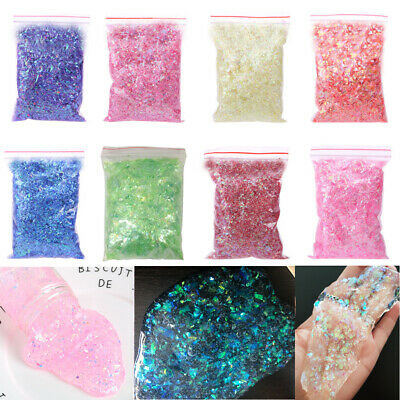 Shinny Slime Beads Glitter Slime Supplies Slime Accessories Clay Kids Toys DIY
