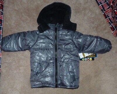 909efd5b7c23 NWT IXTREME OUTFITTERS Toddler Boys Hooded Winter Jacket 2T Charcoal ...