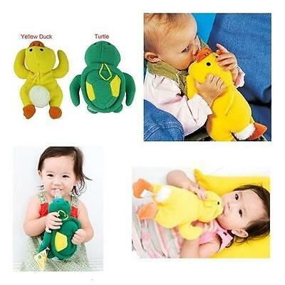 Cute Soft Baby Infant Bottle Animal Plush Warmer Feeding Insulation Bag Cover 6A