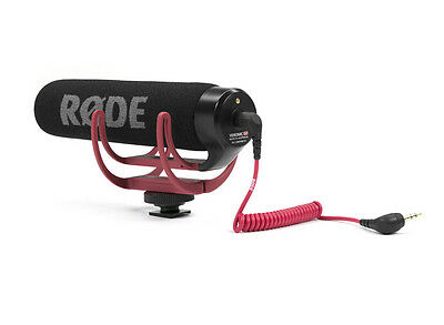 New Rode Videomic GO On Camera Shoe Mount Rycote Lyre Onboard Microphone
