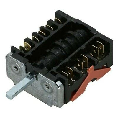 Replacement Oven Function Selector Switch - Ego 46.25866.560 For Delonghi