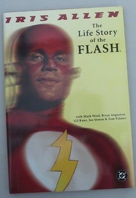 THE LIFE STORY OF THE FLASH GRAPHIC NOVEL  ... NM- ..1997.......Bargain!