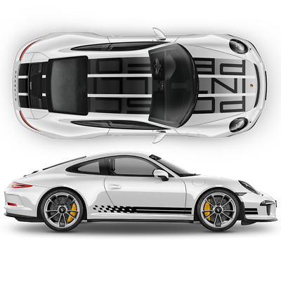 Porsche Carrera 911 S Endurance Racing Edition design decals set