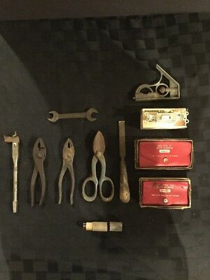 Lot Of Vintage Antique Tools