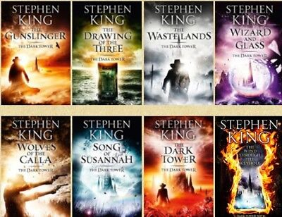 Dark Tower(1-8) [EPUB][PDF][KINDLE][ENGLISH]