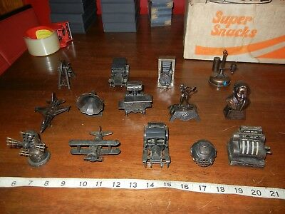 Vintage miniature die cast metal Pencil Sharpeners Collection Lot Of 14 total #4