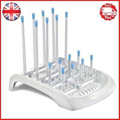 Munchkin Deluxe Bottle Drying Rack Ideal for Bottles, Teats, Cups, Pump Parts