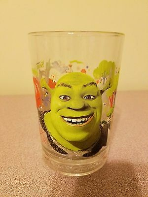 Shrek the Third 2007 McDonald's collectible 14oz glasses Dreamworks New