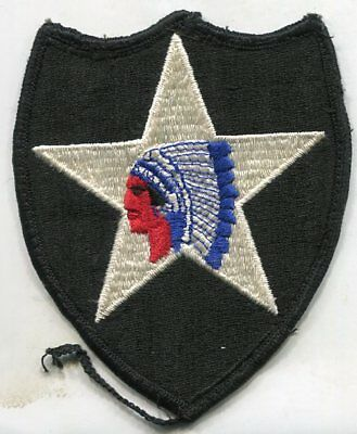 Vietnam era US Army 2nd Infantry Division Color Patch