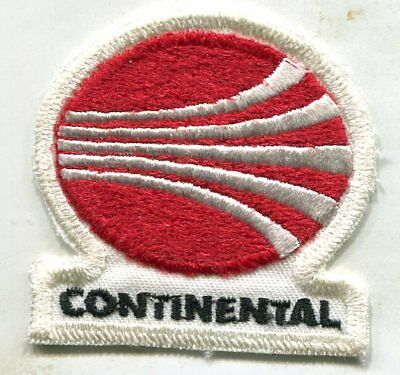 Vintage CONTINENTAL AIRLINES PATCH,NEW