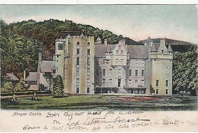 The Castle, ABOYNE, Aberdeenshire