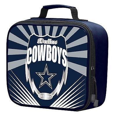 7d33d8565 NFL Dallas Cowboys Adult / Kids Insulated Lunch Kit Box Bag Food Cooler