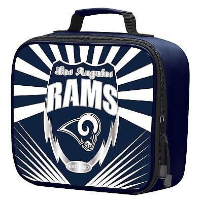 87044ca8 NFL LOS ANGELES Rams Adult / Kids Insulated Lunch Kit Box Bag Food Cooler