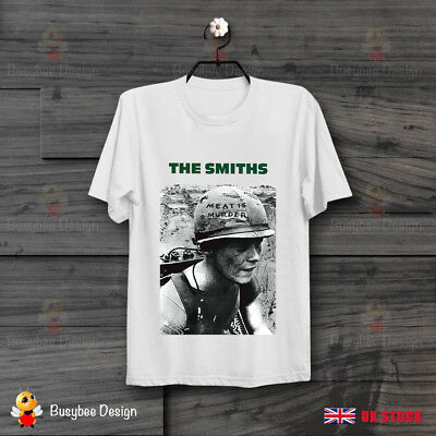 The Smiths Meat Is Murder Punk Rock Band Morissey Retro Unisex T Shirt B205