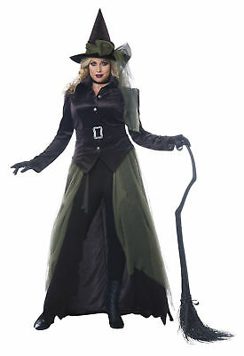 California Costumes Gothic Witch Women Plus Size Costume 01791