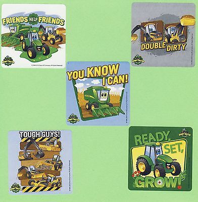 10 John Deere - Tractor - Large Stickers - Party Favors - Rewards