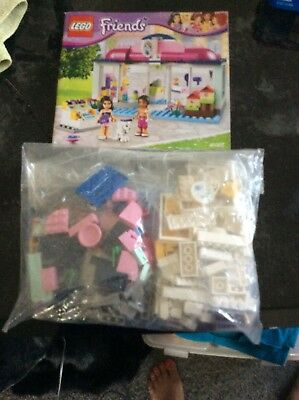 Lego Friends Heartlake Pet Salon 41007 Complete With Instructions No
