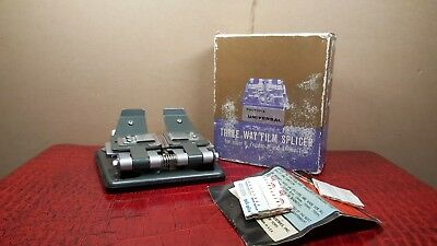 PHOTOPIA UNIVERSAL THREE WAY FILM SPLICER : MADE IN JAPAN : BOXED with...