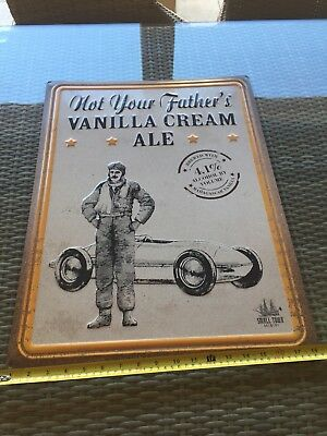 SMALL TOWN BREWERY NOT YOUR FATHER'S ROOT BEER VANILLA ALE TIN METAL SIGN New