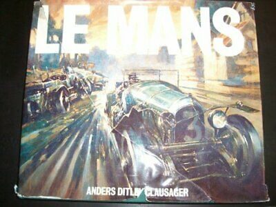 Le Mans by Clausager, Anders Ditlev Hardback Book The Cheap Fast Free Post