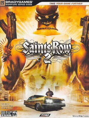 BG: Saints Row 2 Signature Series Guide by BradyGames Paperback Book The Cheap