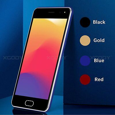 """Cheap 5.0"""" 5MP Android 7.0 Unlocked Cell Phone Dual SIM Smartphone Quad Core GPS"""