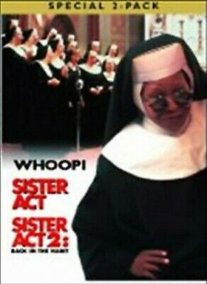 Sister Act/Sister Act 2 - Back In The Habit [DVD] [1994] - DVD  0ALN The Cheap