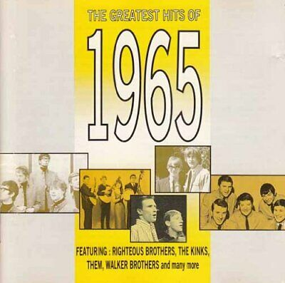 Various Artists - The Greatest Hits of 1965 - Various Artists CD NKVG The Cheap