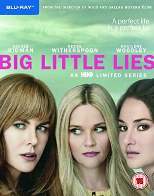 Big Little Lies S1 [Blu-ray] [2017] [Region Free] - DVD  98VG The Cheap Fast