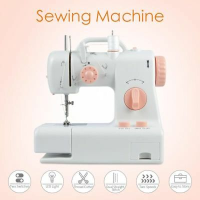 Sewing Machine Overlock Multifunction Electric Double Thread Mini Handheld Tools