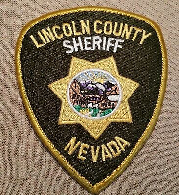 NV Lincoln County Nevada Sheriff Patch