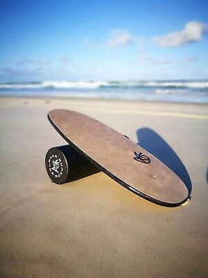 Ahnotion Handmade Balance Board Quality Birch Timber With EPP Foam Roller Inc.