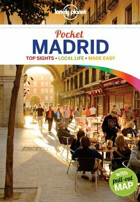 Lonely Planet Pocket Madrid (Travel Guide) by Ham, Anthony Book The Fast Free
