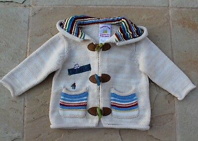 Humphreys Corner Baby Boy Sz 000 Knit Jacket Cardigan New No Tags