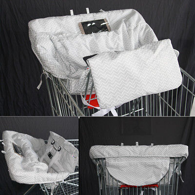 Kids Toddler Shopping Supermarket Cart High Chair Cover Compact Baby Harness Mat