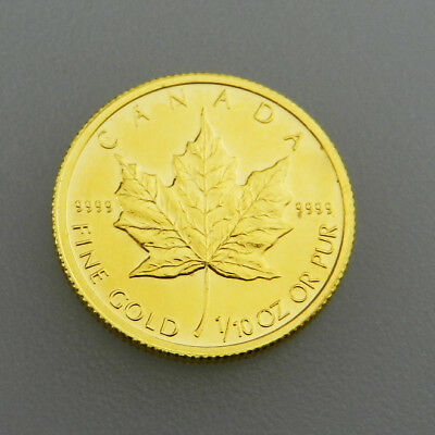 Canada - 5 Dollars von 1992 Maple Leaf - 1/10 Unze Gold - B2380