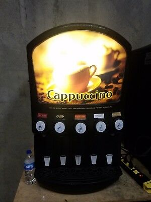 Grindmaster Cecilware Pic5 Hot Beverage Machine Cappuccino/Hot Chocolate Dry Mix