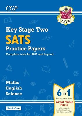 KS2 SATs PRACTICE TESTS ENGLISH MATHS SCIENCE 6 SETS OF PAPERS IN 1 PACK